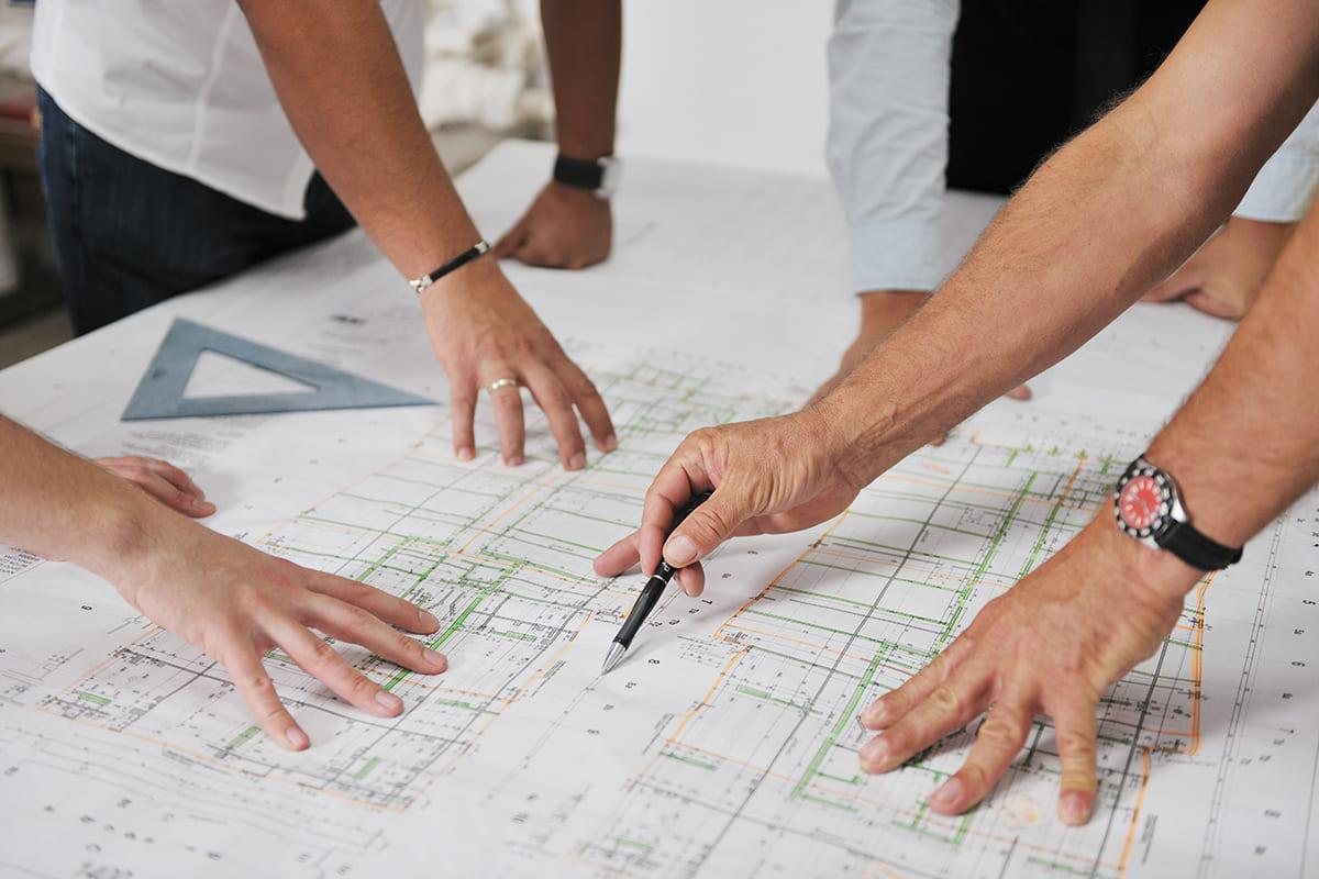 Projektering, projektledning, byggprojekt
